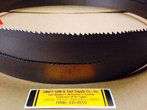 "150/"" 12/'6/"" X 1/"" X .035 X 6T CARBON BAND SAW BLADE DISSTON USA"