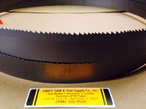 "X 1-1//4 X .042 X 5//8T COBALT BIMETAL BAND SAW BLADE DISSTON USA 186/"" 15/'6/"""