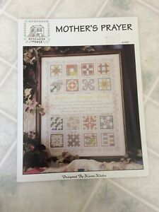 Rose-wood-Manor-Mother-039-s-prayer-Quilt-Sampler-Cross-Stitch-Pattern-Q-1267