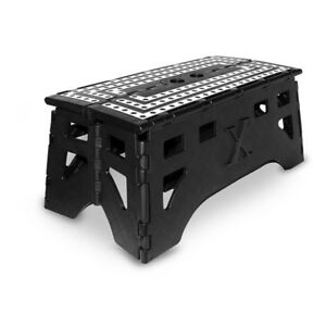Expace 20 Inch Extra Wide Plastic Folding Step Stool For