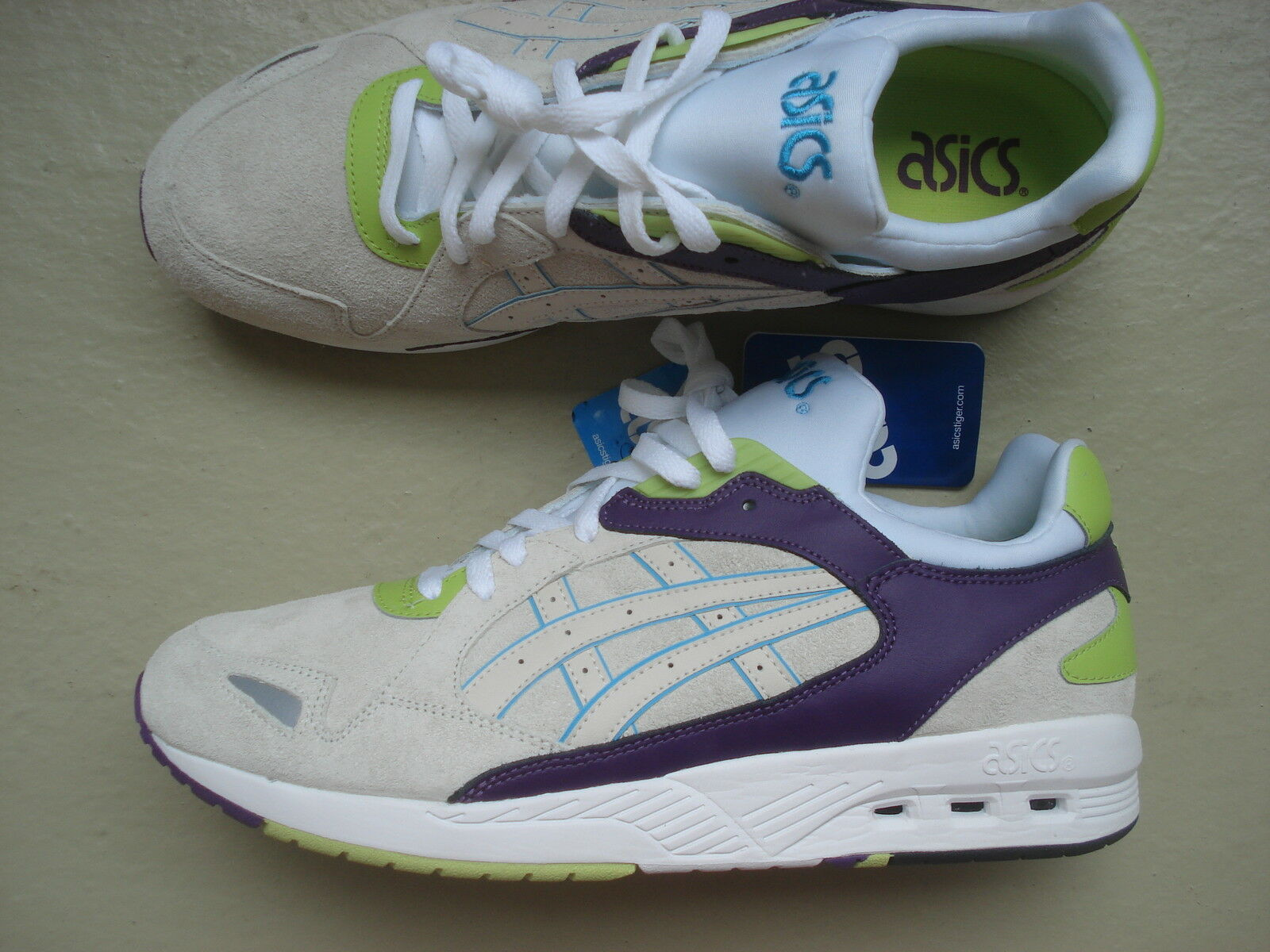 Asics GT-Cool Xpress 45 White White-Green Midnight Navy