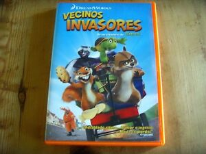 Used-DVD-film-VECINOS-INVADERS-from-the-makers-of-SHREK