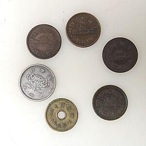 Aus Nachlass 5 X Amulett Loch Münze Bronze China Oder Japan Ebay