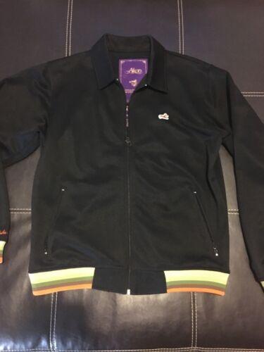 Akoo Track Jacket Black Mens Size L