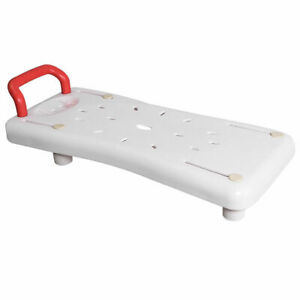 Pleasing Details About Portable Bathtubs Shower Bench Seat Adjustable Width Plastic Bathtub Board White Unemploymentrelief Wooden Chair Designs For Living Room Unemploymentrelieforg