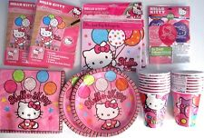 HELLO KITTY Balloon Dreams Birthday Party Supply DELUXE Kit w/ Balloons