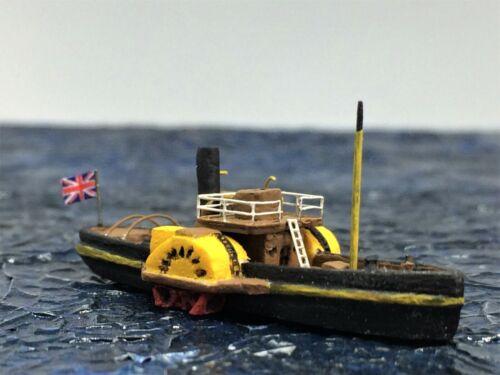 Resin model kit  British paddle whele tug scale 1:700    | eBay