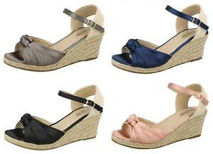 Detalles Mujer Gran Cuña 4 Sandalias Spot Con F2r269 De Colores Precio On Tiras FlTJcK1