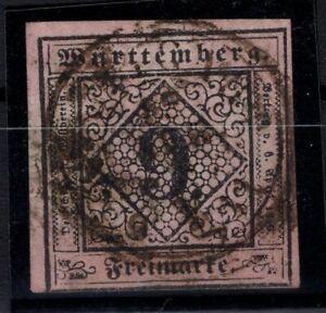 T4297-GERMANY-WURTEMBERG-MI-4b-USED-SIGNED-THOMA-BPP-CV-150