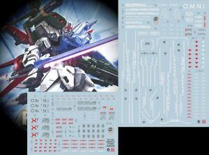 Gundam UC water slide decal SIMP High Definition PG Unleashed RX-78-2 1//60