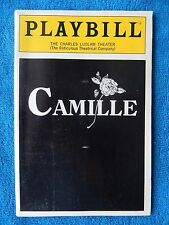 Camille  - Charles Ludlam Playbill w/Ticket - February 24th, 1991 - Quinton