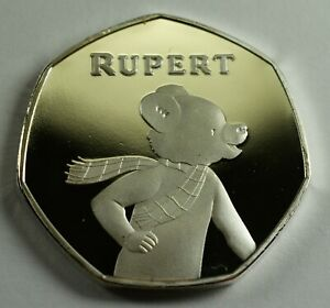 Brand-New-RUPERT-THE-BEAR-999-Silver-Commemorative-Albums-Filler-Collectors