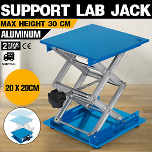 Details about 8 x 8 Stainless Steel Lab Jack Stand Table Scissor Lift  laboratory