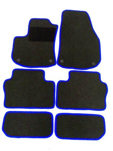 Fußmatten Teppich Passform Opel Zafira B Bj 2005 bis 2014 inkl Befestigung 2985