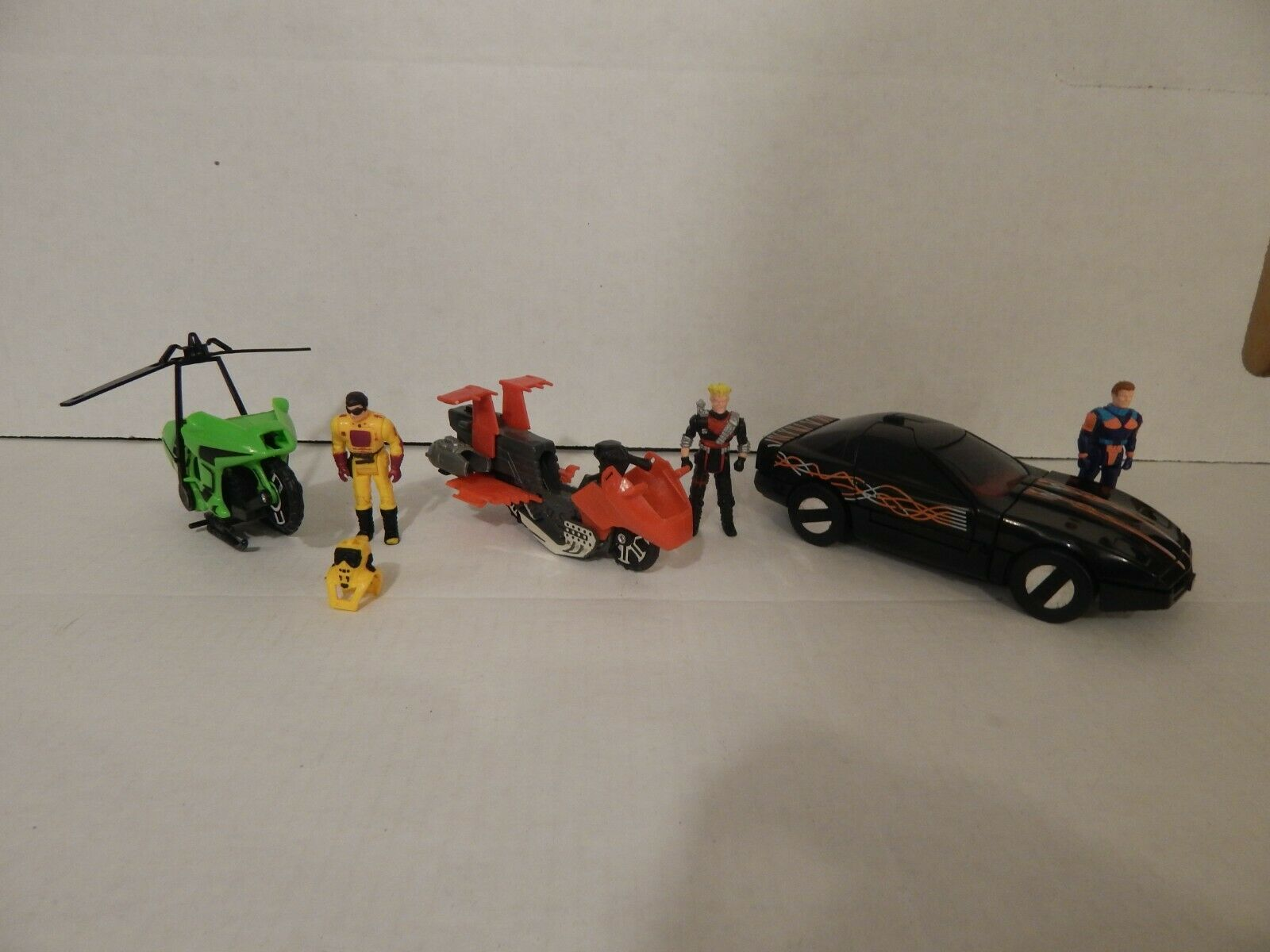 Mask Kenner lot Condor Raven Vampire vehicles and figures