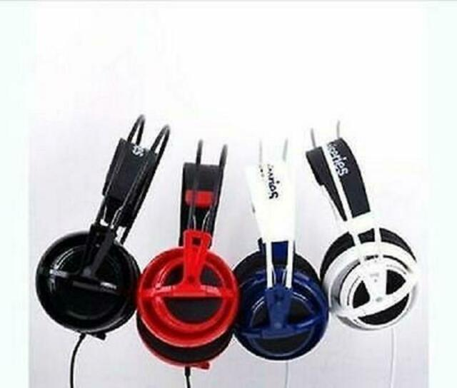 Black//Grey IL//RT6-130... SteelSeries Siberia V2 Full-Size Gaming Headset ONLY