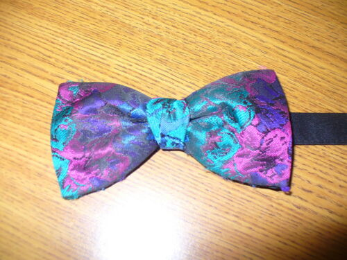 USED Bow Tie American Euro Floral 88108