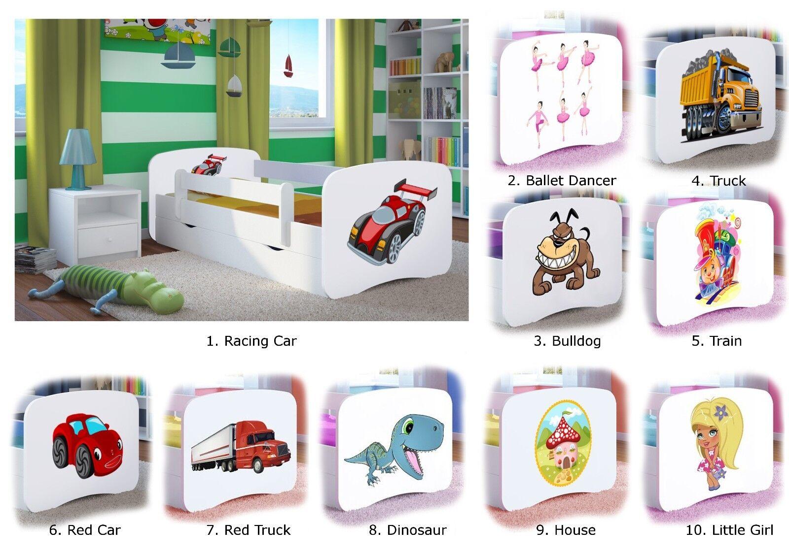 Petit Lit Babydreams - pour Enfants Bébé Junior 140x70 160x80 180x80