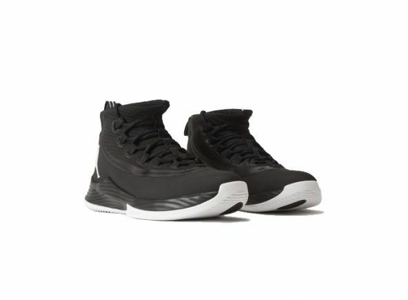 Men's Air Jordan Ultra Fly 2 Black White Sizes 8-12 New in Box 897998-010