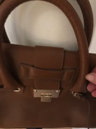 Jimmy Suede Choo Body Pocket £995 Lined Dna Brown Tan Cross Interior Bag rrZ1q