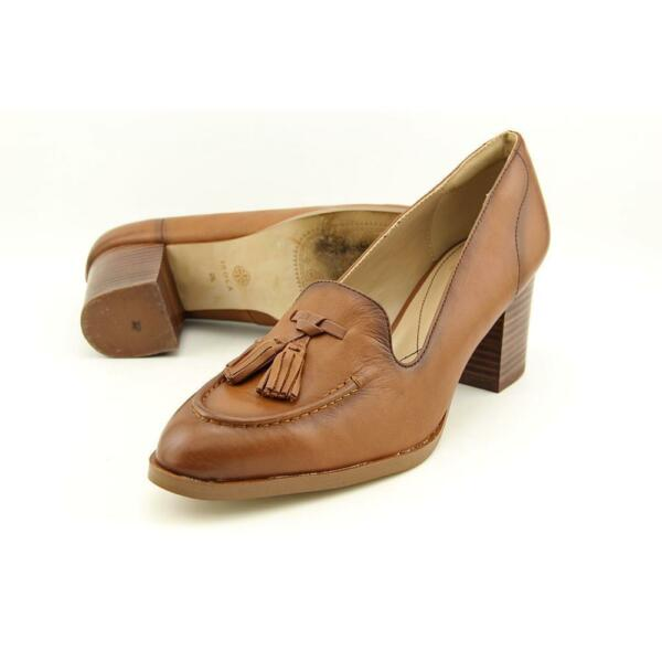 12402d0289d5 Isola Hailey Womens US 8 Tan HEELS Brown MOC Loafer for sale online ...