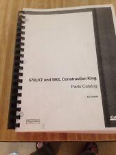 Case 580l Series I Backhoe Parts Manual Book Catalog
