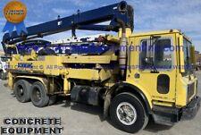 Schwing Concrete Pump 28m Placing Boom Mack Truck