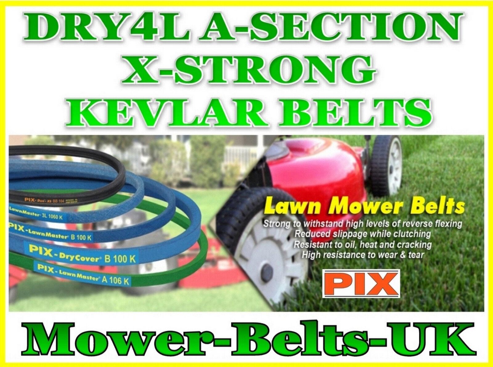 DRY4L X-forte di una sezione (1 2  13 mm) tosaerba Cintura 18  - 158  realizzato con Kevlar