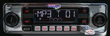 "/ Retro Look Radio""altes Autoradio""chrom Oldtimer Mercedes Benz W114 W115 /8"