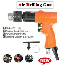 Air Drill 13mm 12in Cw Ccw Rotation Hole Pneumatic Drilling Tool Kit Set 700rpm