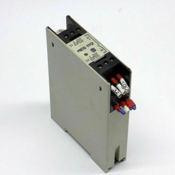 Schmersal Aes 1112 Safety Relay 24 Vdc Aes1112 For Sale