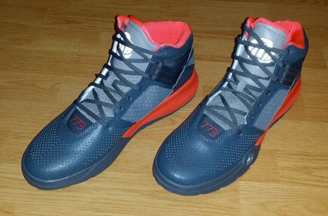 Uomo Adidas D Rose 773 III Basketball Shoes Size 13 (S85542) (M-81)
