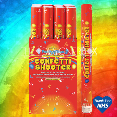 50cm Biodegradable Confetti Shooter Compressed Air Cannon Party Wedding Popper