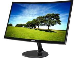 """SAMSUNG C24F390 24"""" Ultra Slim Design Full HD AMD FreeSync Monitor HDMI"""