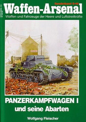 Panzer-Modellbau Waffen-Arsenal Sonderband 48 Panzerkampfwagen I und Abarten