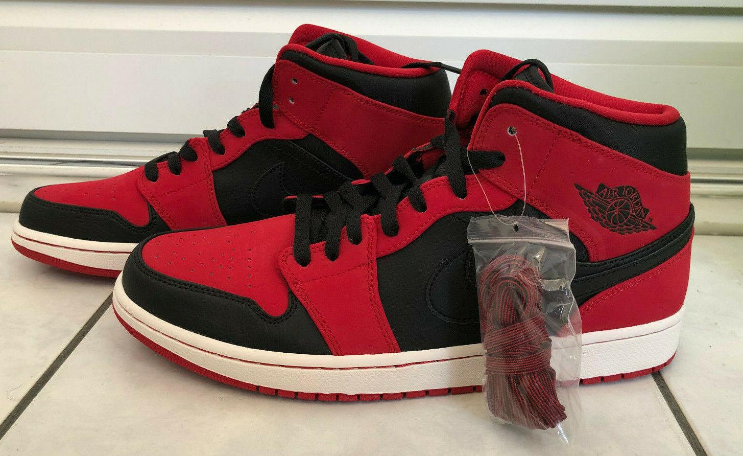 Nike Air Jordan 1 Retro High OG nero nero nero rosso,Dimensione US 12 1c3abc
