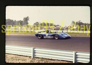 1972 Bob Nagel #17 Lola T222 - Can-Am Watkins Glen - Original 35mm Race Slide