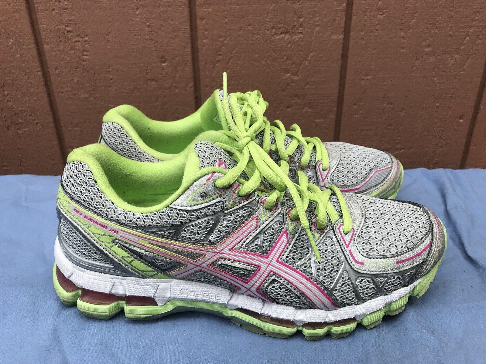EUC Asics Gel Kayano Kayano Kayano 20 Donna  Dimensione US 8.5 Fluid Ride Running scarpe da ginnastica T3N7Q A5 a9c679