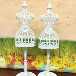 3pcs-Display-Gown-Dress-Clothes-Rack-Doll-Mannequin-Hollow-Model-Holder-Stand