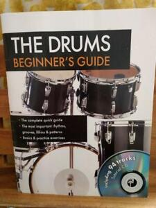 Details about MUSIC BOOK: Drums Beginners Guide with CD 94 tracks practice  exercises learning