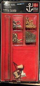 BILLING BOATS #515 accessori per NIELS JUEL N° 514 - Italia - BILLING BOATS #515 accessori per NIELS JUEL N° 514 - Italia