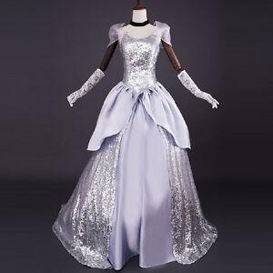 Adult-Cinderella-Formal-Dress-Halloween-Costume-Women-Evening-Party-Ball-Gowns