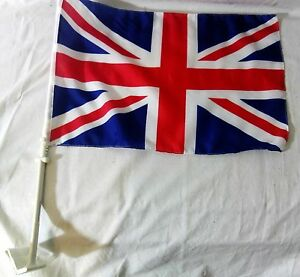 Heavy-Duty-Quality-Large-Union-Jack-GB-Car-Van-Window-12-x18-flag-Pair-B2GOF