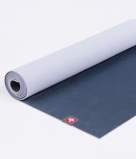 MIDNIGHT BLUE GREY MANDUKA EKO LITE 4mm  Yoga or Pilates Mat New TRAVEL FRIENDLY