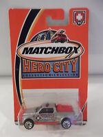 Matchbox Hero-city 11 Emergency Responce 4x4 Unit 11 2002 Nip