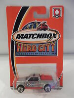 Matchbox Hero-city 11 Emergency Responce 4x4 Unit 11 2002 Nip