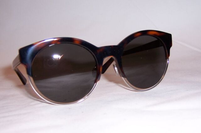 05f0e98d4368 NEW CHRISTIAN DIOR SIDERAL 1S J6A-NR HAVANA BROWN GRAY SUNGLASSES AUTHENTIC