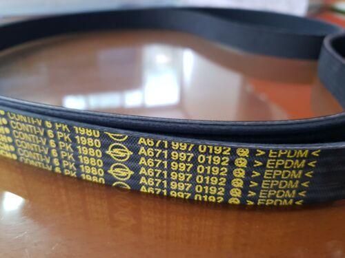 Genuine Poly Grooved Belt RODIUS KORANDO SPOTS KORANDO C D20DTF//R NPS only