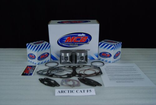 ARCTIC CAT FIRECAT F5 SABERCAT SNOPRO MCB DUAL RING TOP END PISTON KIT