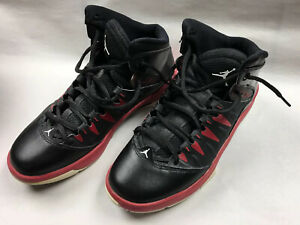 Details about Air Jordan Shoes Black Red Youth 5.5Y great shape EUR 38 Non marking sole
